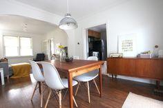 dining room #eames #teak #retro #vintage #credenza