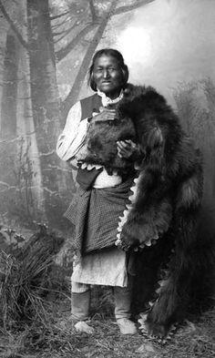 Mescalero Apache Medicine Man, Gorgonia.