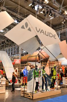 Stand Vaude ISPO 2015