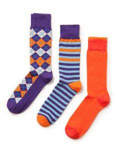 Houndstooth-, Argyle- und Stripe-Socken von Clapham at Gilt Patterned Socks, Striped Socks, Fashion Socks, Mens Fashion, Ugly Socks, Work Socks, Crazy Socks, Colorful Socks, Happy Socks
