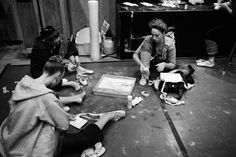 Behind the Curtain at the New York City Ballet - The Shoes