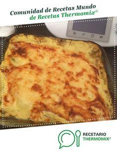 LASAÑA DE VERDURAS CON BECHAMEL LIGHT por 010371. La receta de Thermomix® se encuentra en la categoría Verduras y hortalizas en www.recetario.es, de Thermomix®