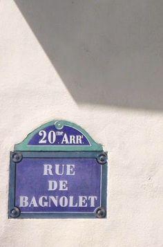 rue de Bagnolet - Paris 20ème