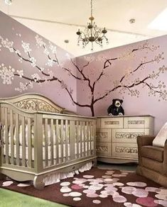 Chic Baby Girl Room