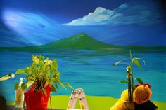 Mural – Kiwiana Landscape | LongaBrevis - Art is Magic!