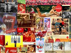 Coca ~ Cola Wallpaper Coca Cola Wallpaper, Coke, Vintage Ads, Puzzles, Pepper, Decoupage, Collage, Paintings, Ideas