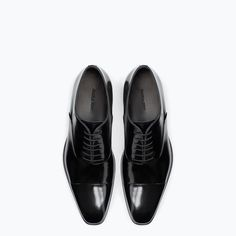 Image 3 of SARTORIAL LEATHER OXFORD SHOE from Zara