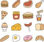 Food Doodle Icon