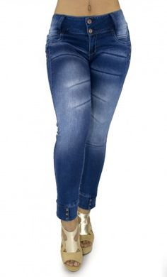 Maripily Women Ankle Butt Lifting Jean – This enhance Maripily Skinny Jean are designed to shape your silhouette!