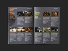 St. Kilda Film Festival Brochure  By Studio Brave    Editorial
