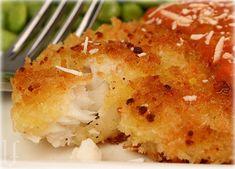 CRISPY TILAPIA IN TOMATO-CREAM SAUCE-i always need more good fish recipes