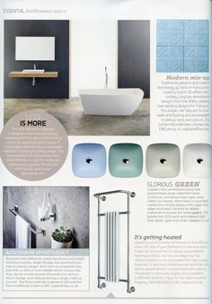 The Yole bathroom is designed around natural beauty  no frills or extra  attachments just subtle and striking  Essential Kitchen Bathroom Bedroom  March 2016Alterntive Bathroom s  Saturn  textured countertop basin with the  . Essential Kitchen And Bathroom Business Magazine. Home Design Ideas