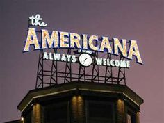 Americana IS always welcome.
