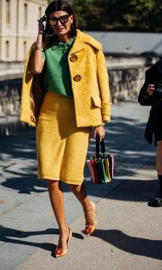 Combina el amarillo y sal airosa de la situación: yes! yellow!