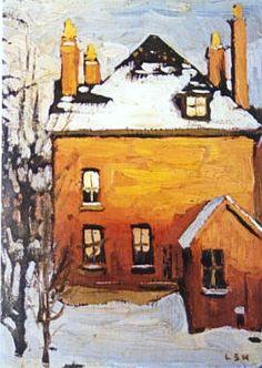 Little House, Lawren Harris (Canadian)