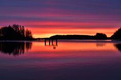 Midnight Sun, Lakes, Sunsets, Silhouettes, Sunrise, Shit Happens, Twitter, Summer, Outdoor