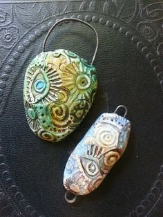 Love My Art Jewelry: Playing with Polymer