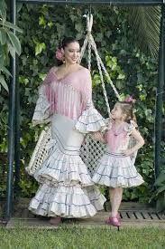 Resultado de imagen de vestidos de gitana para bebes 2014