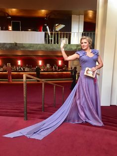A million thanks to my dear friend @Zac_Posen for this stunning gown. You always know how to make me feel beautiful! 💎 by @Chopard 😘💜 /annaNetrebko