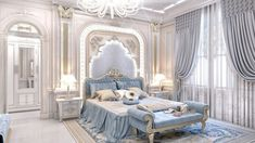 Beautiful Interior Design of Sophisticated Style Decorating ideas for timelessly beautiful bedroom! - Architecture and Home Decor - Bedroom - Bathroom - Kitchen And Living Room Interior Design Decorating Ideas - Luxury Bedroom Design, Master Bedroom Interior, Luxury Rooms, Luxury Interior Design, Luxury Home Decor, Luxurious Bedrooms, Home Decor Bedroom, Luxury Bedding, Interior Design Living Room