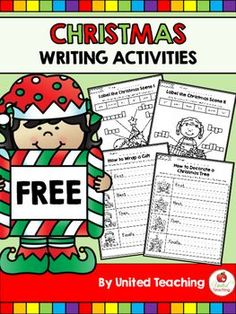 Help your students learn to write step by step instructions with these Free Christmas writing activities!The following activities are included in this packet:- How to Wrap a Gift- How to Decorate a Christmas Tree- Label the Christmas Scene I- Label the Christmas Scene III hope you find these activities helpful in your teaching!Similar items you might be interested in: Christmas No Prep Kindergarten Math WorksheetsChristmas No Prep Kindergarten Language Arts WorksheetsChristmas No Prep 1st…