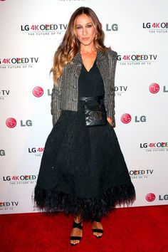 Only Sarah Jessica Parker Could Make A Bum Bag Look Chic On The Red Carpet...