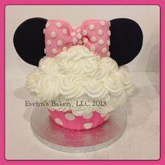 baby minnie birthday cake - Google Search