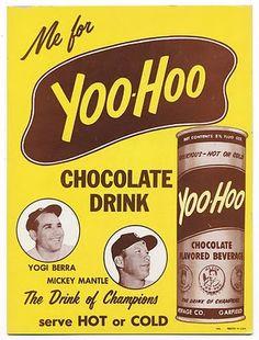 Hot Yoohoo Drink