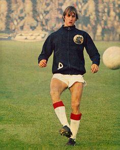 Johan Cruyff training for Ajax. #14 #9