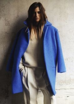 Kasia Struss for Vogue Russia #backtofall #editorial #oversized