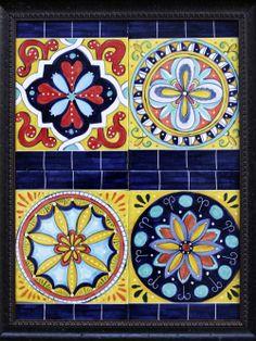 Italian Tiles Artist: Virginia Arregui Medium: Ceramic tile