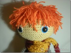 Oh and of course this one. Ron Weasley, Amigurumi Doll, Tweety, Amy, Harry Potter, Geek Stuff, Crochet Hats, Dolls, Style
