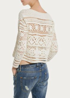 Cropped Top with diagrams (none that I can find!!)