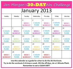 My ABS CHALLENGE is ready to go! Here's the first week's workout and the calendar for the month. Do this week's workout times during the week of Jan. Ideally you'd want to give your. Ab Workout Men, Plank Workout, Ab Workout At Home, Ab Workouts, Cardio, Monthly Workouts, Core Exercises, 30 Day Workout Challenge, Health Challenge