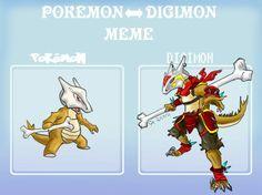 Pokémon turned Digimon