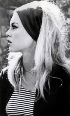 Longing to have really blonde hair again, and look something like Brigitte Bardot!