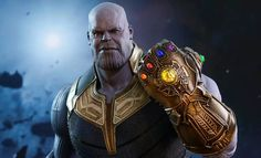 Thanos and the Infinity Gauntlet are expected to feature prominently in the Avengers: Infinity War movie. Once it comes out, the interest in this Avengers: Thanos Marvel, Marvel Villains, Marvel Characters, Chuck Norris Memes, Stan Lee, The Avengers, Avengers Movies, Clint Barton, Steve Rogers