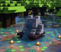 Minecraft Cottage, Cute Minecraft Houses, Minecraft Plans, Minecraft House Designs, Amazing Minecraft, Minecraft Tutorial, Minecraft Blueprints, Minecraft Art, Minecraft Crafts