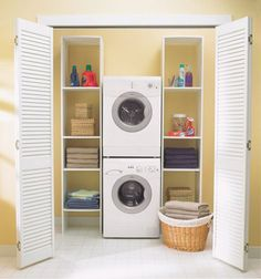 Tricks to Stacking Any Washer