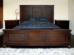 solid wood grand camden king bed frame furniture homedecor - King Bed Frame Wood