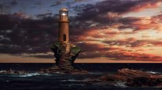Lonely Lighthouse II by Alexandros Malapetsas on 500px