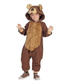 Brown Bailey Bear Funsies Dress-Up Outfit - Toddler