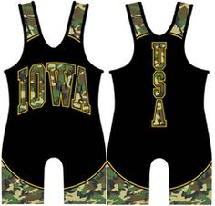 Made 4 U Iowa Hunter Wrestling Singlet Fight Wear, Wrestling Singlet, Iowa, How To Wear, Lifestyle, Wrestling