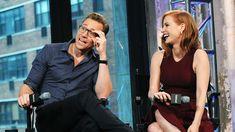 Tom Hiddleston, Mia Wasikowska and Jessica Chastain on AOL BUILD - Oct 1...