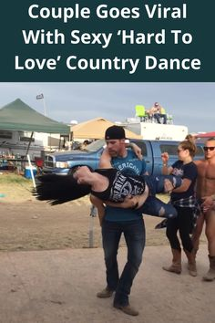 """I can't say I've ever seen dance moves quite like this, especially danced to country music! Joey Timmons and Stephanie Renee really took the center stage at this country music festival when they performed an impressively beautiful, sensual dance to Lee Brice's """"Hard to Love!"""""""