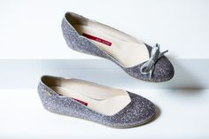 눈의 여왕을 연상시키는 고세 플랫슈즈. GO-CCE Elsa's flat shoes. @현대백화점