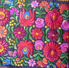Matyo embroidered piece