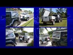 Global One Expedition off-road tent trailer - YouTube