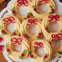 31 Best Spritz Wreath Cookies Images In 2014 Cookies Spritz