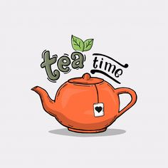 To all the tea lovers out there, It's just a reminder. Tea Logo, Cute Teapot, Cartoon Wallpaper Iphone, Mini Albums, Arabic Art, Tea Art, Decoupage Paper, Illustrations, Coffee Art